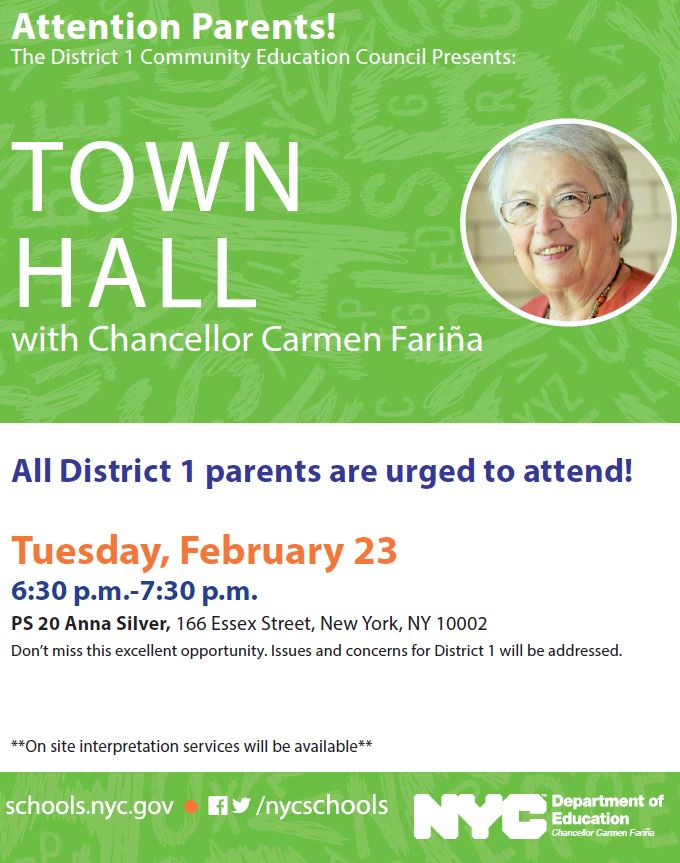 D1 Town Hall 2_23_2016