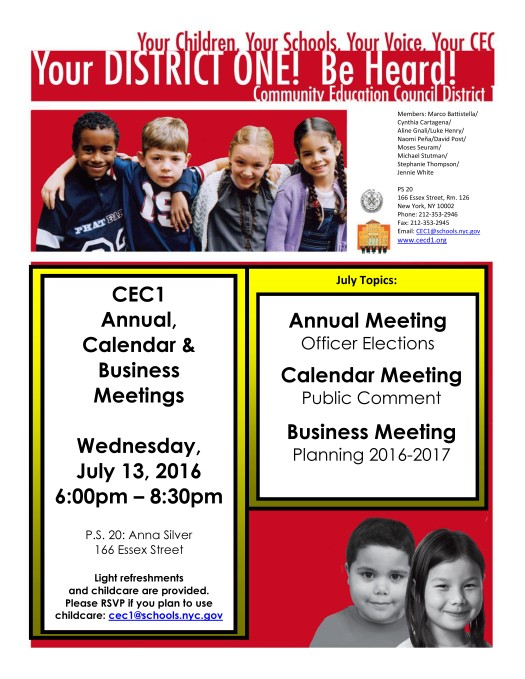 CEC1 Flyer Annual Calendar Business Meeting 7_13_2016
