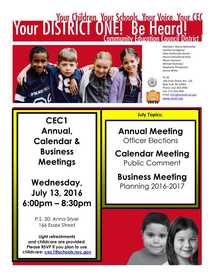 CEC1 Flyer Annual Calendar Business Meeting 7_13_2016