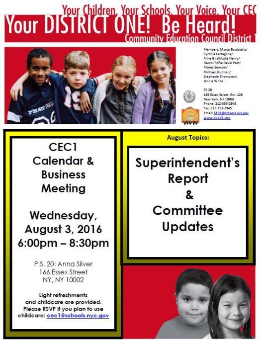 CEC1 Flyer Calendar Business Meeting 8_3_2016