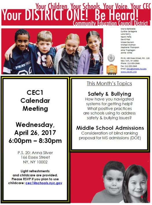 CEC1 Safety Bullying Flyer Cal. Bus. Meeting 4.26.17